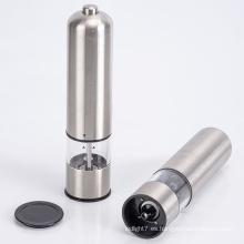 molinillo de sal y pimienta eléctrico con luz LED