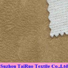 Mikrofaser Wildleder mit Verbundgewebe für Sofa Fabric