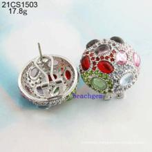 Jewelry-925 Sterling Silver CZ Earrings (21CS1503)