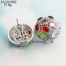Ювелирные изделия-925 стерлингового серебра кубического циркония серьги (21CS1503)