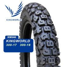 Venezuela 8pr Neumático de motocicleta y tubo de butilo 3.00-17 3.00-18 3.60h18 100 / 90-18