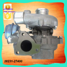 Pièces auto Gtb1749V 28231-27030 Turbocompresseur 28231-27400 757886-0003 757886-5003s pour Hyundai D4ea