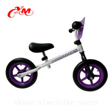 China Fabrik heißer Verkauf 18 Monate alt Balance Fahrrad / Balance Fahrrad lila / Kinder 12 Zoll Fahrräder kein Pedal
