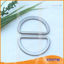 Внутренний размер 38 мм Металлические пряжки, Металлический регулятор, Металлическое кольцо D-Ring KR5078