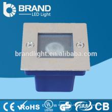 IP65 Внешний наружный утопленный шаг света 1W светодиодный шаговый фонарь, CE RoHS