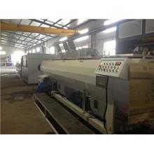 Tubulação plástica do PVC PPR do HDPE dos PP do PE que faz a linha de produção da máquina