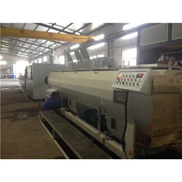 Tubo plástico del PVC PE PP HDPE PPR que hace cadena de producción de la máquina