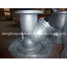 Filtro em Y de extremidade de flange 150 lb aço carbono RF