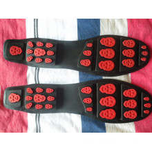 New Leather Shoes Sole Leisure Sole Driver Shoes Sole Wear-Resisting Rubber Sole (YX06)