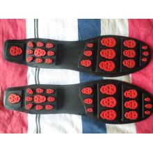 Новая кожаная обувь Sole Leisure Sole Обувь для обуви Sole Wear-Resisting Rubber Sole (YX06)