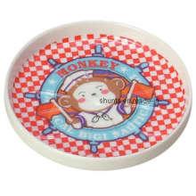 100% Melamin Geschirr - Kinder Geschirr Pad / Coaster / Food Grade Melamin Geschirr (BG027)