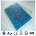 Feuille de polycarbonate estampée en couleur de haute qualité