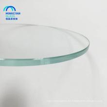 buena venta manufactura de la mesa de vidrio templado de China