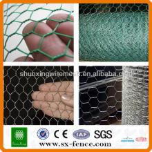 ISO9001: 2008 Fonte real da fábrica Galvanizado barato malha de arame hexagonal