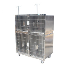 Animal Pet Cages Design 304 Stainless Steel New Pet Cages, Carriers & Houses Backpacks for Dogs Wooden Cases All Seasons 2 Years