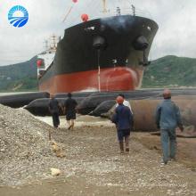 Balão de borracha de pressão industrial inflável para doca de flutuação do pontão