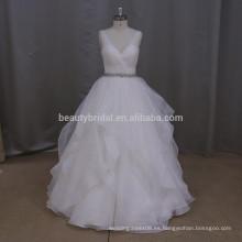 M804 actural pictures decoraciones de quinceañera baratos vestidos de novia casual