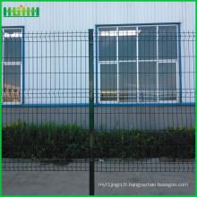 Prix d'usine à bas prix et fin China 6ft wire mesh fence v Vérin de maille courbée