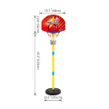 Wholesale children outdoor indoor sports hardcore basketball box shooting frame children can lift basketball stand