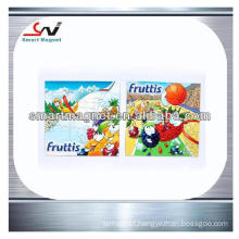 cheap customised pvc advertising magnet