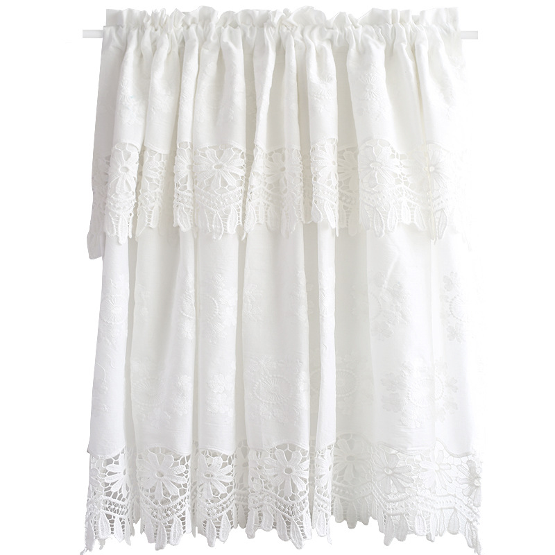 White Cotton Embroidery