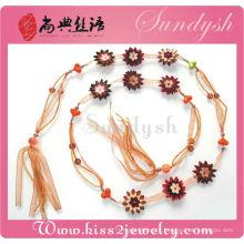 Moda Jóias Vestido Acessório Handmade Fabric Flower Utility Belt