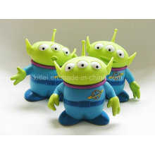 Inflatable Colorful Wholesale Small PVC Plastic Alien Kids Children Toy