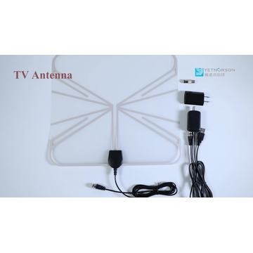 50 Miles Digital Indoor Transparent HD TV Antenna