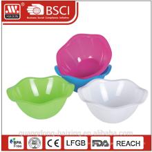 saladier en plastique rond 1,3 L 3L 5L