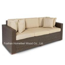 3 Seater Luxury Comfort Outdoor Wicker Patio Furniture Sofa
