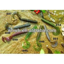 soft salt water fishing lure 9.5cm/7.5g fishing lure boxes