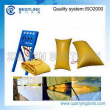 Quarrying Environmental and Recycling Air Bags for Stone Block Segregation
