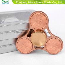 Us Dollar Metal Alloy EDC Hand Fidget Spinner High Speed Focus Toy Regalos