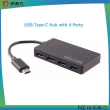 2016 mais novo tipo-C Male4 porta USB 3.0 Hub
