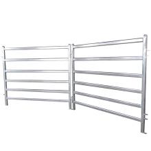 Hot dip galvanized metal horse fence
