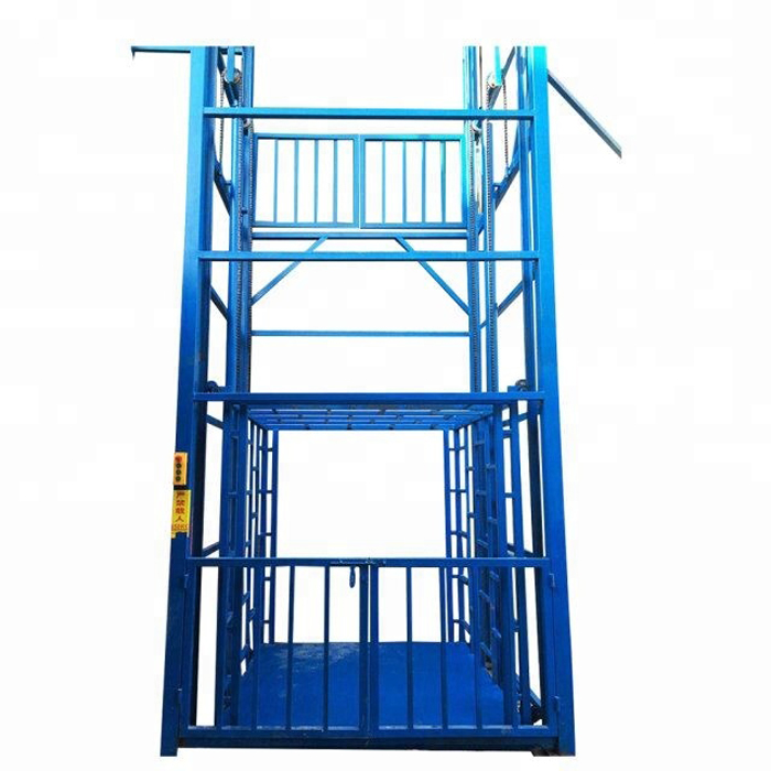 Guide Rail Chain Lift