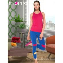 Miorre Women Sleepwear Sleeveless Capri Pajamas Set