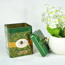 Caja china de la lata del té de la alta calidad promocional, caja de la lata para el té