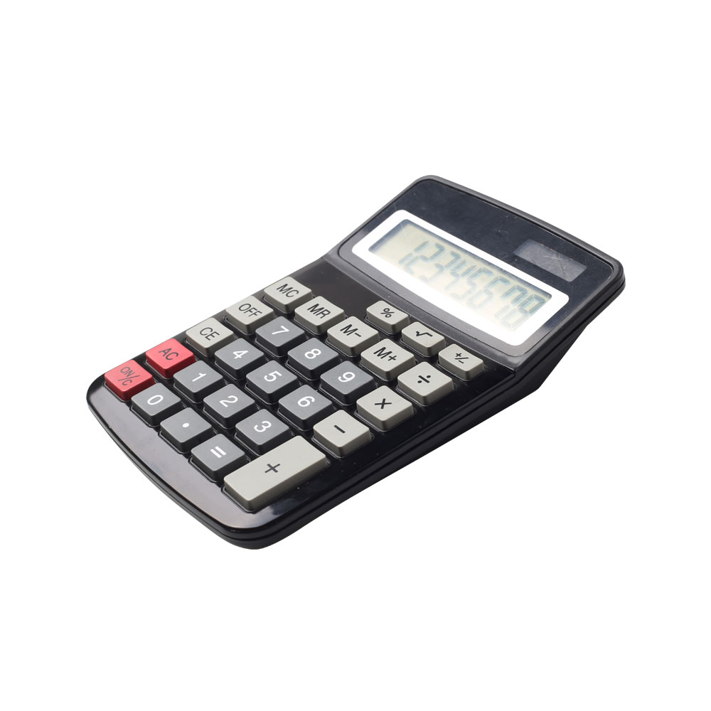Calculadora de secretária empresarial Dual Power 8 Digit