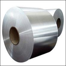 Acabamento em bobina 2B em aço inox CR 304