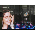 Advertising+Using+High+Transparency+Transparent+LED+Screen