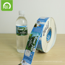 Good Price High Quality Waterproof Adhesive Sticker Label For Water Bottles