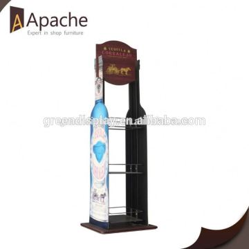 Hot sale clothing store a4 a3 floor display stand