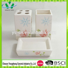 2014 China Accesorios de baño rosa baratos Set