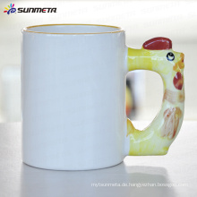 Sublimation Tier leere Becher Hahn