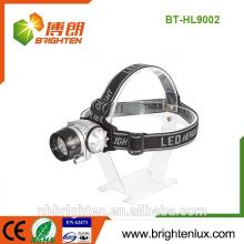 Professional Factory Hot Wholesale ABS plastique à longue portée mult-function 3 * AAA led headlamp manufacturers