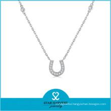 Popular Dubai Gold Plating Jewelry Set of Horseshoe Necklace (J-0235N)