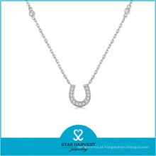 Conjunto popular da jóia do chapeamento de ouro de Dubai da colar em ferradura (J-0235N)