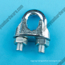 Us Type 5/8 Galvanized Malleable Wire Clamp