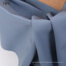 Stocklot sergé tissé 100% tissu de vêtement en polyester